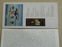 Josef Čapek - Nejskromnější umění/The humblest art (prospekt)