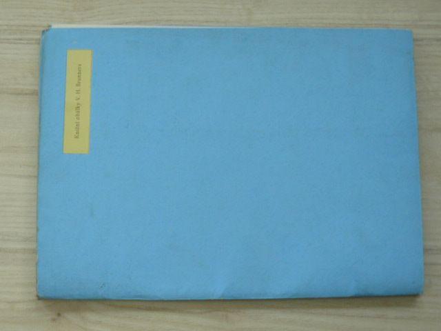 Knižní obálky V. H. Brunnera (1936)