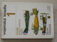 Němeček - Vojenská letadla 1 - letadla 1. světové války (1977)