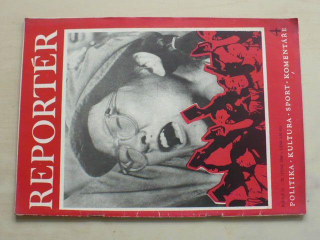 Reportér 4 (1969) ročník IV.