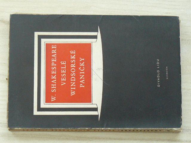 Shakespeare - Veselé windsorské paničky (1948)