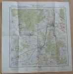 Cvičná mapa 1 : 25 000 - M-34-122-B-a - Bělá - Generální štáb ČsLA (1954)