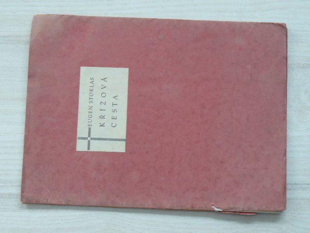 Eugen Stoklas - Křížová cesta - Znělky (1934) podpis autora