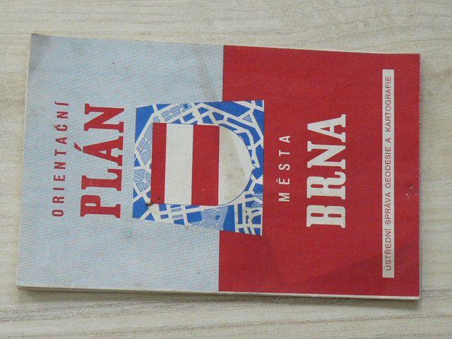 Orientační plán města Brna 1 : 15 000 (1958)