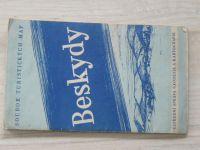 Soubor turistických map 1 : 75 000 - Beskydy (1959)