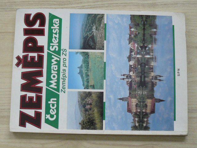 Zeměpis Čech , Moravy, Slezska - Zeměpis pro ZŠ (1994)