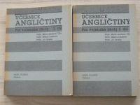 Jandová, Látalová, Straka - Učebnice angličtiny pro vojenské školy 1. a 2. díl (1991)
