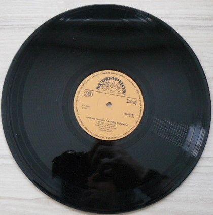 Deska Pro Kontrolu Parametrů Gramofonů (1984)
