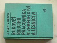 Slabý - Rukověť řídícího pracovníka v zemědělství a lesnictví (1981)