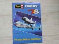 Revell Hobby ´78 - Katalog, vícejazyčný text