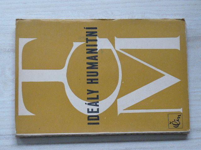 T. G. Masaryk - Ideály humanitní - Několik kapitol (1946)