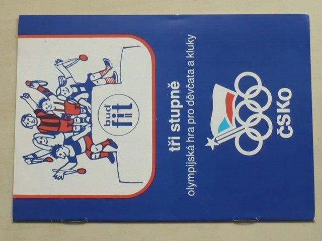Tři stupně - Olympijská hra pro děvčata a kluky (1986)