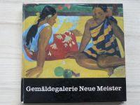 Gemäldegaelrie Neue Meister - Dresden (1977) německy