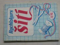 Černá, Strouhalová - Rychlokurs šití (1991)