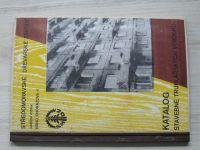 Středomoravské dřevařské závody Brno - Katalog stavebně truhlářských výrobků (1968)