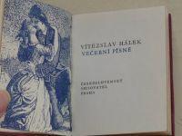 Hálek - Večerní písně (1973)