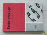Hledík, Kubeš, Simerský - Elektrotechnologie pro 4. ročník SPŠE (1969)