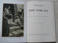 Holková - Tisíc tomu let (Vilímek 1940) il. Z. Burian