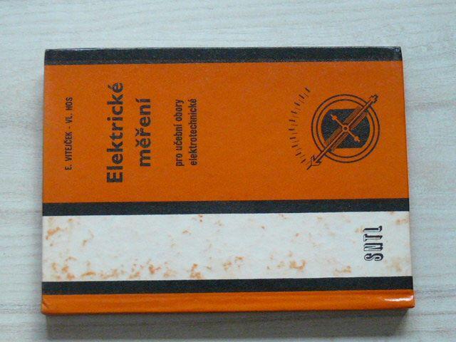Vitejček, Hos - Elektrické měření pro učební obory elektrotechnické (1979)