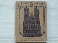 PRAHA - Stručný průvodce. - Informační pokyny. (1922)