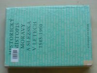 Hosák - Historický místopis Moravy a Slezska v letech 1848-1960 (1967) úvodní svazek
