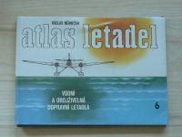 Němeček - Atlas letadel - Vodní a obojživelná dopravní letadla (1986)