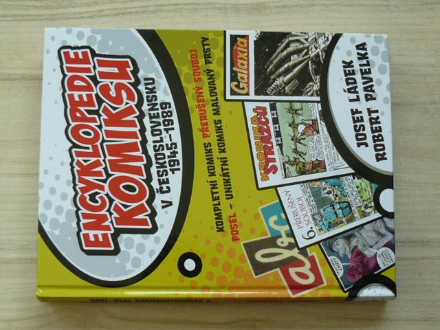Encyklopedie komiksu 1-2 v Československu 1945-1989 (2010-12) 2 knihy