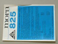 Mora 825 (nedatováno) 1 list