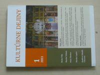 Kultúrne dejiny 1-2 (2011) ročník II. (slovensky)