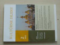 Kultúrne dejiny 2 (2012) ročník III. (slovensky)