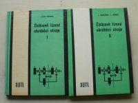 Nedbal - Číslicově řízené obráběcí stroje I. II. (1979) 2 knihy