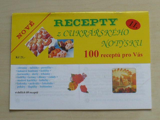 Recepty z cukrářského notýsku 11 (nedatováno)