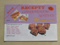 Recepty z cukrářského notýsku 12 (nedatováno)