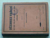 Učebnice vaření pro vyšší třídy škol obecných a pro školy měšťanské (1937)
