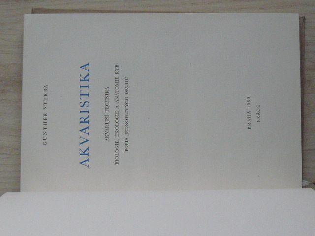 Sterba - Akvaristika (1960)