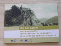 Ústí nad Labem - Historie a památky (2007) česky, anglicky, německy