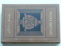 Zeyer - Ostatní prósa (1929)