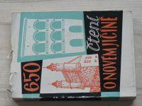 Čtení o Novém Jičíně - Sborník 650 let, soubor statí a vzpomínek (1963)