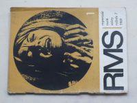 Repertoár malé scény 1-12 (1969) ročník VII. (chybí čísla 2-6, 12, 6 čísel)