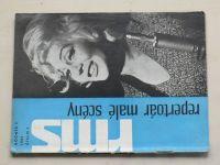 Repertoár malé scény 7 (1965) ročník III.