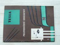 Tesla Rožnov - Polovodičové součástky 1975 - Katalog