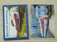 Železniční pohlednice ČD - 12 pohlednic v obálce