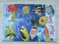 Fish Index - Diving Map - Red Sea  - Určovací příručka