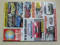 Svět motorů 1, 2, 5, 7, 11, 17, 36, 38 (2010) ročník LXIV. (8 sešitů)