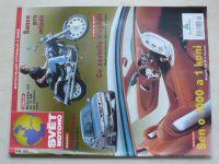 Svět motorů 19, 24, 34 (2001) ročník LV. (3 sešity)