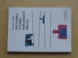 Filka - Metodika tvorby diplomové práce - Praktická pomůcka pro studenty vysokých škol (2002)