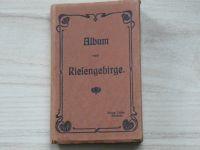 Album vom Riesengebirge. Ottmar Zieher München - Krkonoše, 20 barevných pohlednic, leporelo