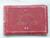 Souvenir de Zurich - leporelo 9,5x14,5 cm, 20 listů