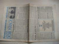 Lidová demokracie 116 (1990) ročník XLVI. + příloha Neděle s LD 20 (1990)