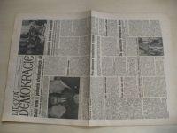 Lidová demokracie 54 (1990) ročník XLVI.